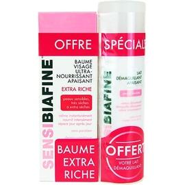 Sensibiafine baume visage ultra-nourrissant apaisant 50ml + lait démaquillant 125ml offert - sensibiafine -212817
