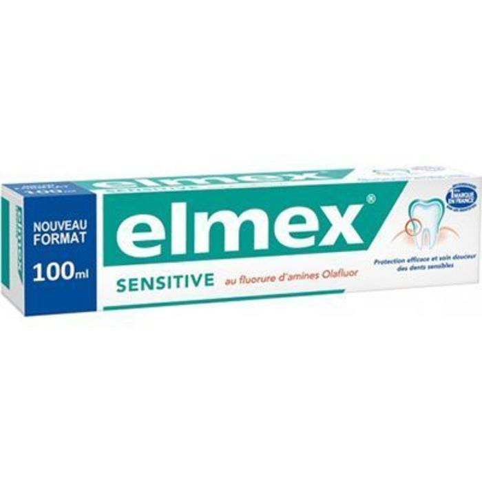 Sensitive dentifrice 100ml Elmex-228180