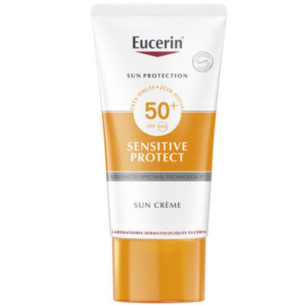 Sensitive protect sun crème spf50+ 50ml - eucerin -196319