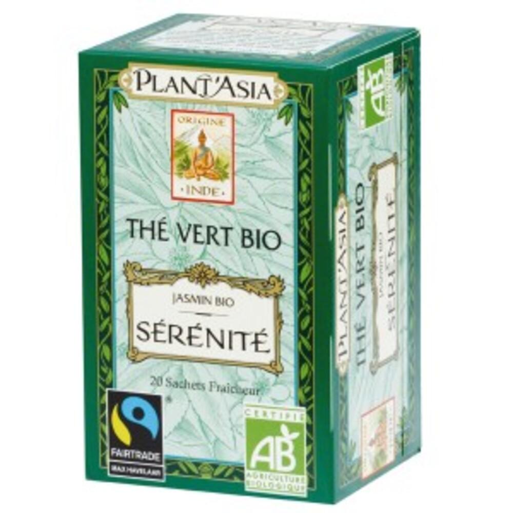 Sérénité - 20.0 unites - thés bio - plant'asia -16209