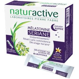 Seriane mélatonine 20 sachets orodispersables - naturactive -215439
