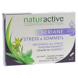 Sériane stress et sommeil - 2 x 15 gélules - naturactive -203291