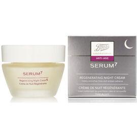 Serum 7 crème de nuit régénérante 50ml - boots -216113