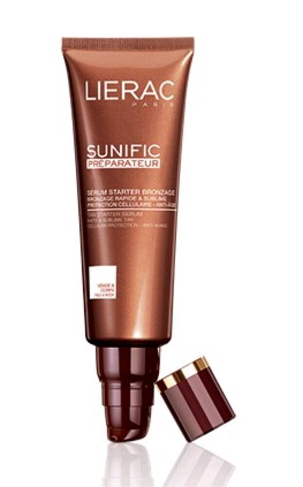 Sérum préparateur bronzage - 125.0 ml - solaire sunific - lierac Bronzage rapide et sublime protection cellulaire anti-age -143564