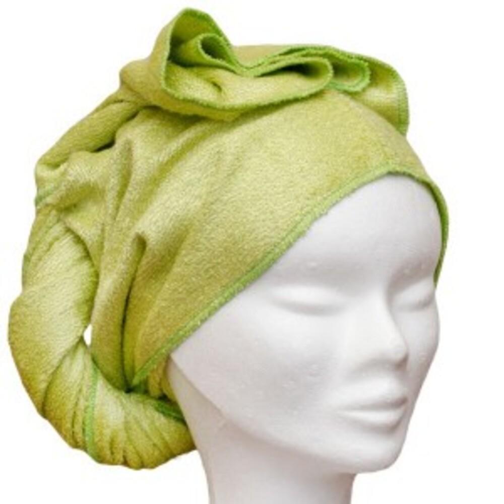Serviette à cheveux vert - divers - les tendances d'emma -136760