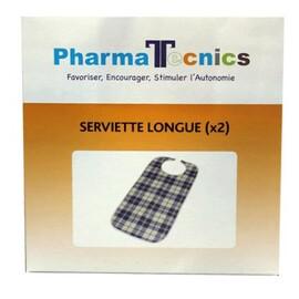 Serviettes longues x2 - pharma tecnics -212460