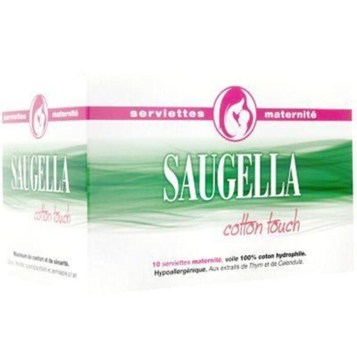 Serviettes maternité x10 Saugella-221413