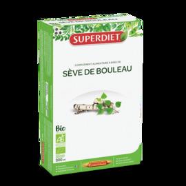 Sève de bouleau - 20 ampoules - 20.0 unites - les purs jus de la terre - super diet Changement de saisons-11072