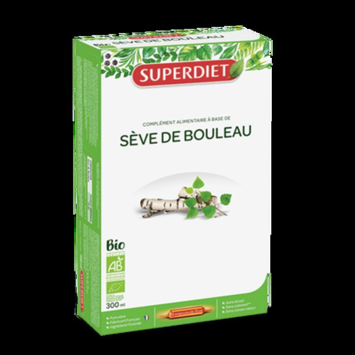 Sève de bouleau - 20 ampoules Super diet-11072