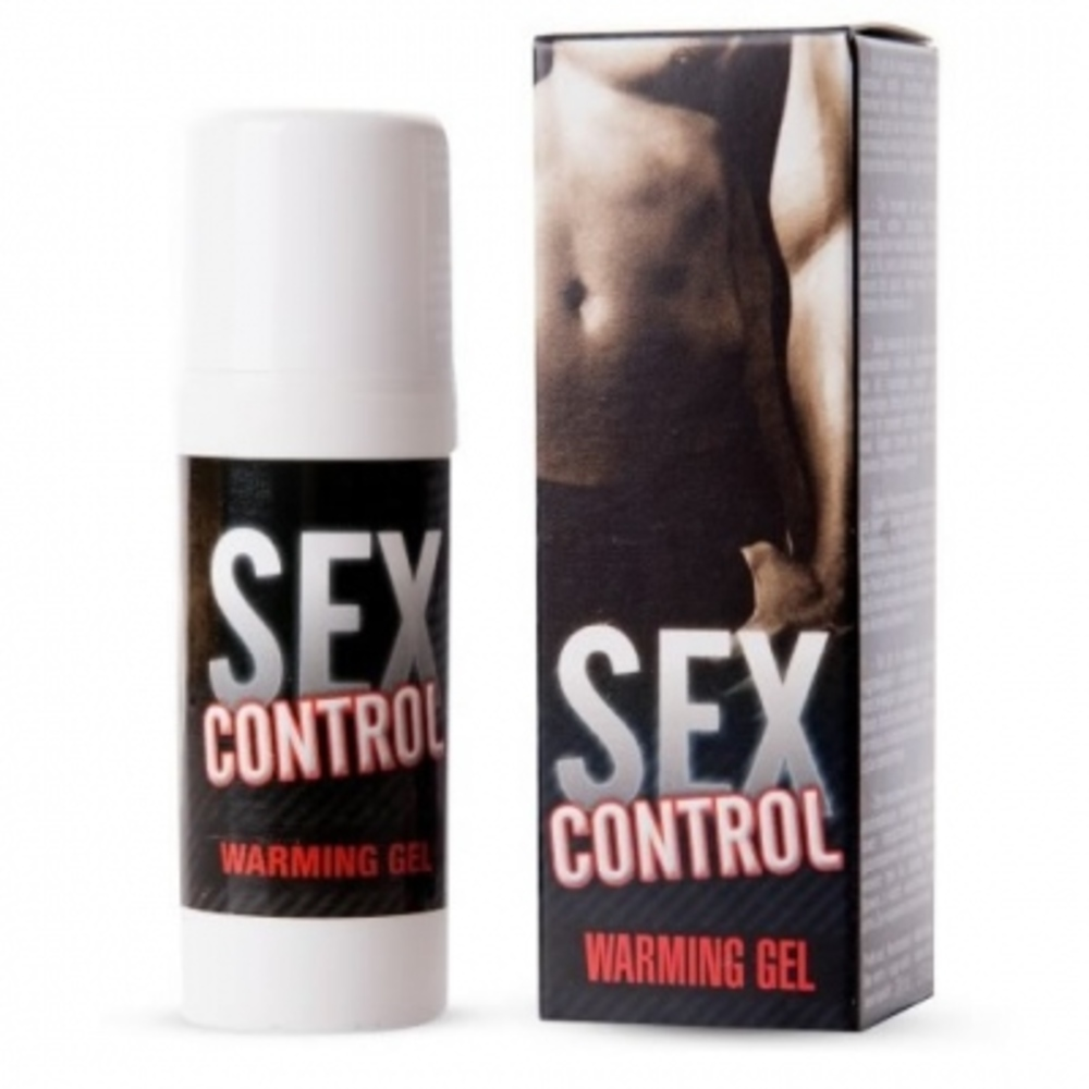 Sex control warming gel - 30ml - ruf -199357