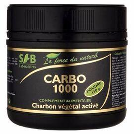 Sfb carbo 1000 charbon végétal activé poudre 150g - 150.0 g - charbon végétal - sfb -15943
