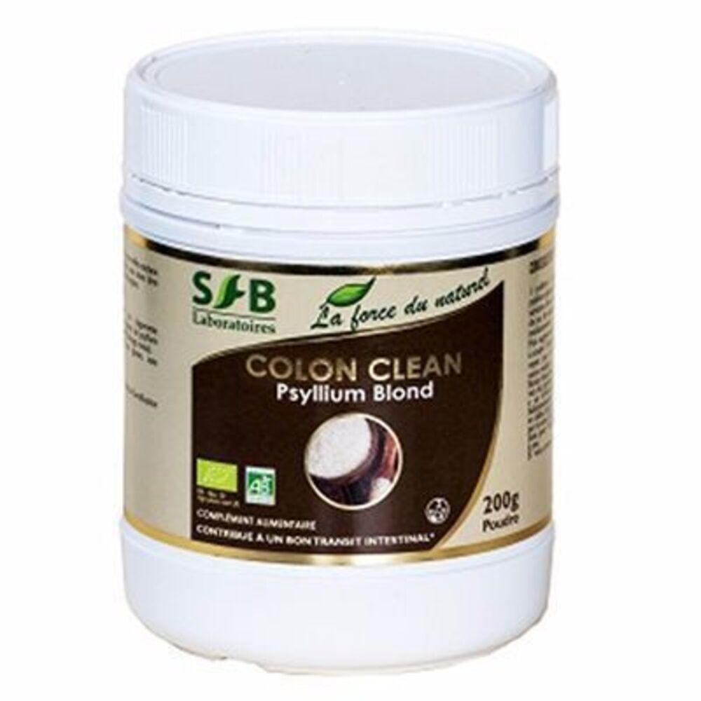 Sfb colon clean psyllium blond bio - 200g - divers - sfb -189945