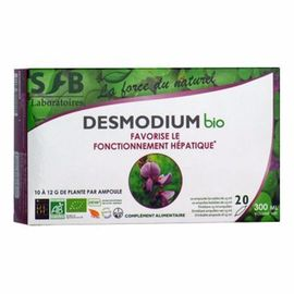 Sfb desmodium bio 20 ampoules x 15ml - divers - sfb -138280