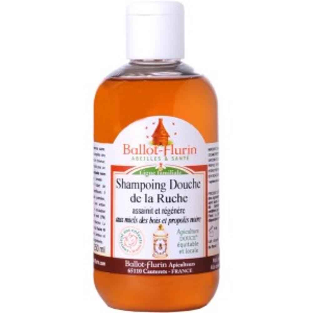 Shampoing douche de la ruche assainissant et doux bio - 250 ml - divers - ballot flurin -141726