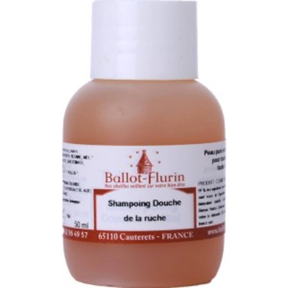 Shampoing douche de la ruche assainissant et doux bio - 50 ml - divers - ballot flurin -141725