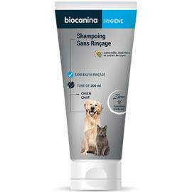 Shampoing hygiene sans rincage - 200.0 ml - hygiène - biocanina -220476