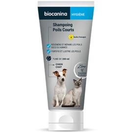 Shampoing poils courts - 200.0 ml - hygiène - biocanina -220473