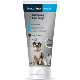 Shampoing poils longs - 200.0 ml - hygiene - biocanina -220472