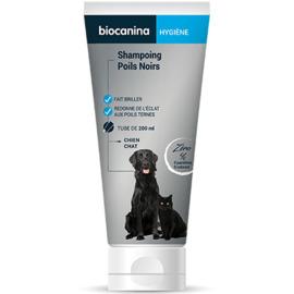 Shampoing poils noirs - 200.0 ml - hygiène - biocanina -220471