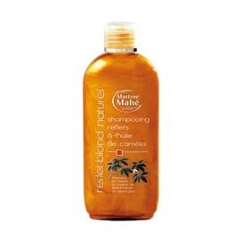Shampoing reflets blonds naturels à l'huile de camélia - 200.0 ml - les shampoings reflets à l'huile de camélia - martine mahé Du blond foncé au blond clair-4749