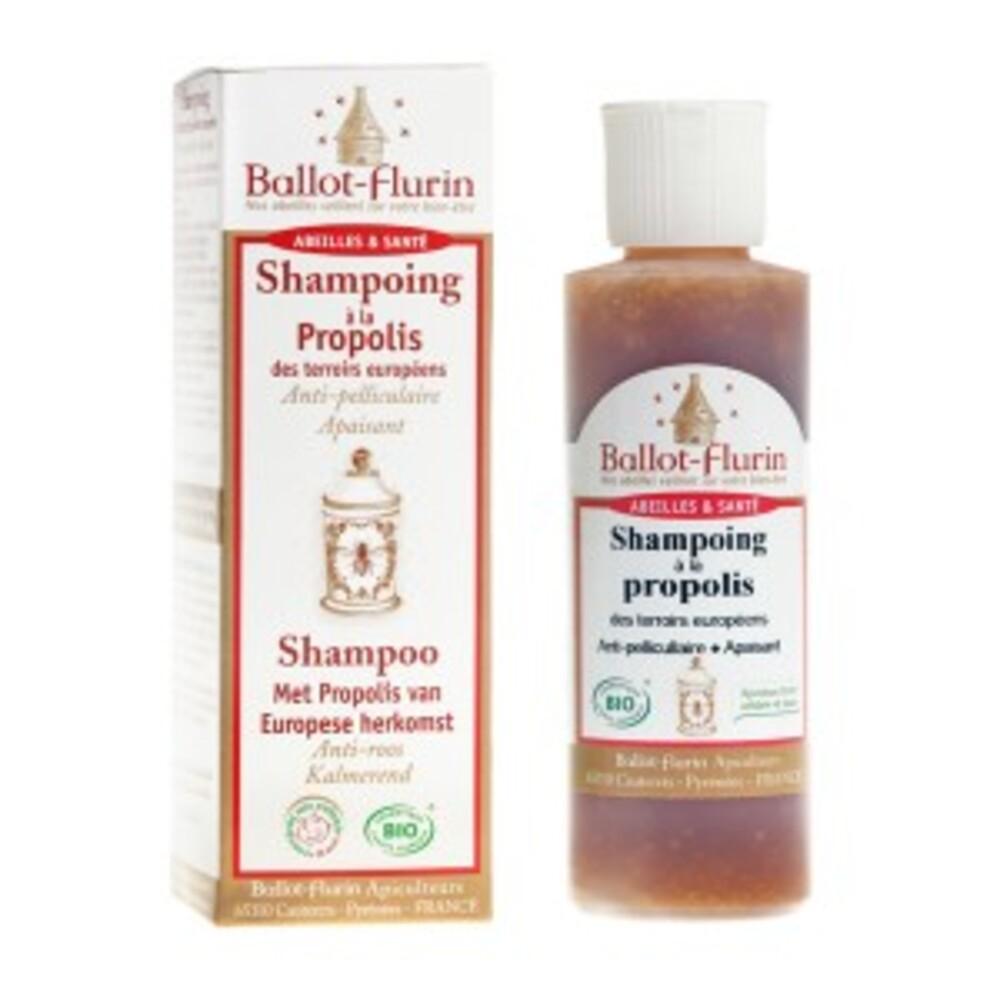 Shampoing soin régénérant propolis - 125.0 ml - apithérapie - ballot flurin Anti-pelliculaire, anti-démangeaisons-11561