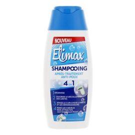 Shampooing 4 en 1 après-traitement anti-poux 200ml - elimax -219376