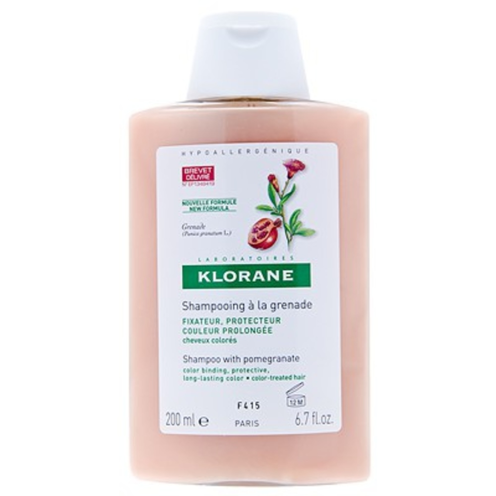 Shampooing à la grenade 200ml - divers - klorane -100915
