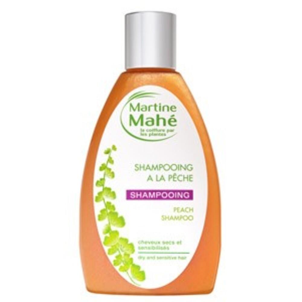 Shampooing à la pêche - 200.0 ml - les bains capillaires - martine mahé Cheveux secs et sensibilisés-2323