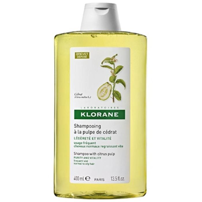 Shampooing à la pulpe de cédrat 400ml Klorane-81927