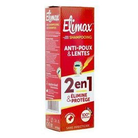 Shampooing anti-poux et lentes 250ml - elimax -219377