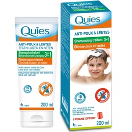 Shampooing anti-poux & lentes - quies -201353