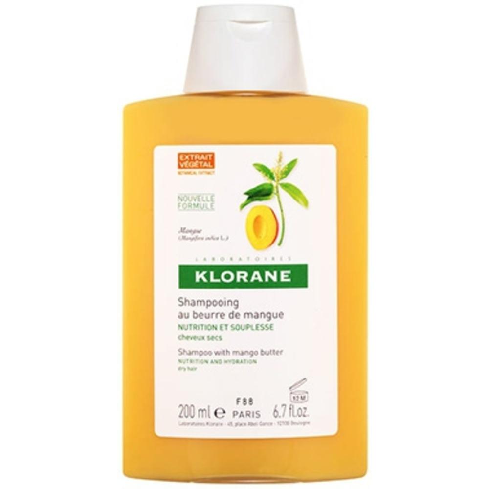 Shampooing au beurre de mangue 200ml - 200.0 ml - divers - klorane -81860