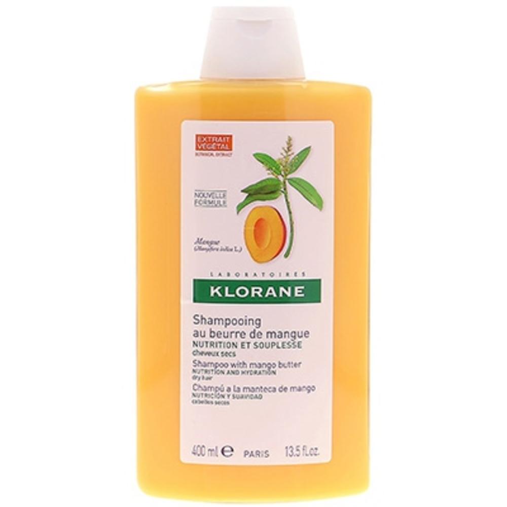 Shampooing au beurre de mangue 400ml - 400.0 ml - divers - klorane -81863
