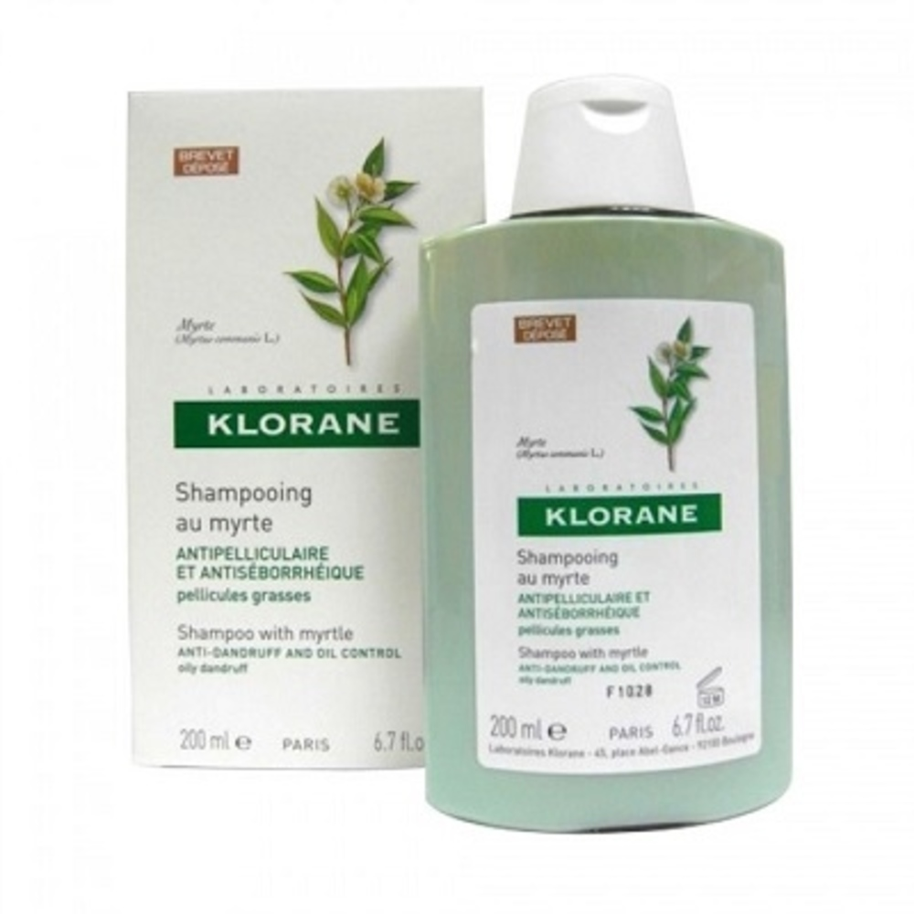 Shampooing au myrte 200ml - 200.0 ml - divers - klorane -81995