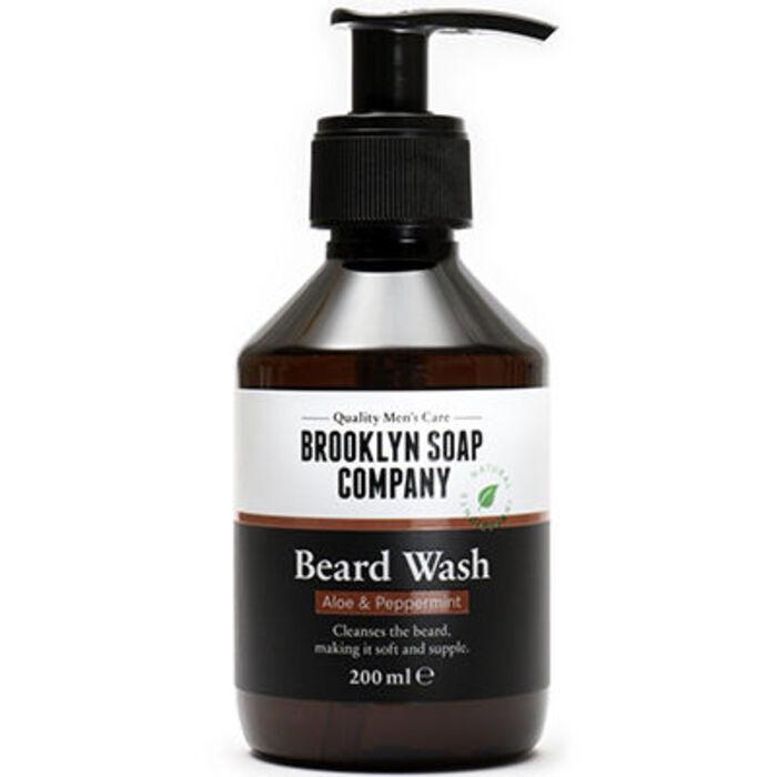 Shampooing barbe aloe vera & menthe poivrée 200ml Brooklyn soap-225521