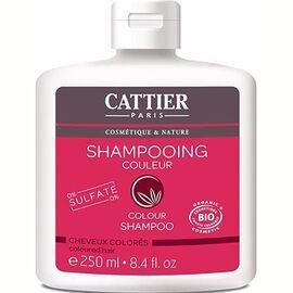 Shampooing cheveux colorés sans sulfates bio 250ml - cattier -226163