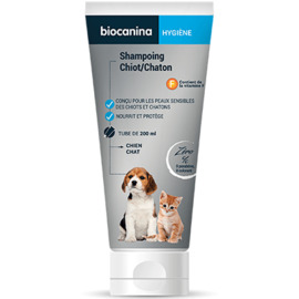 Shampooing chiot chaton 200ml - biocanina -220469