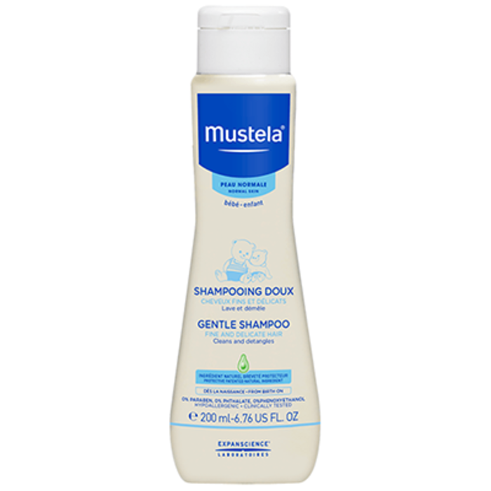 Shampooing doux - 200ml Mustela-205392