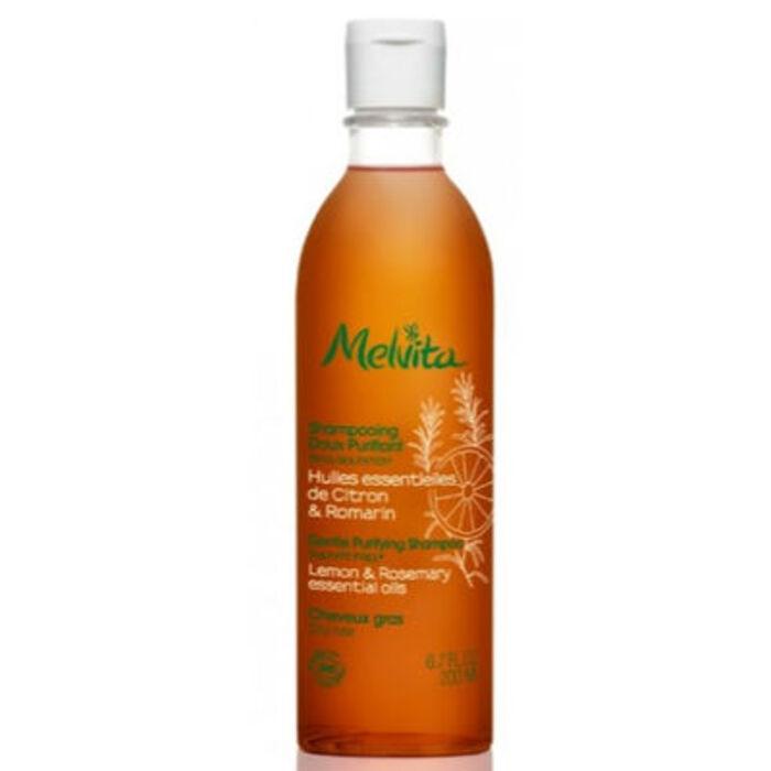 Shampooing doux purifiant bio 200ml Melvita-213459