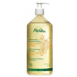 Shampooing familial extra doux bio 1l - les shampooings et demelants - melvita -213462