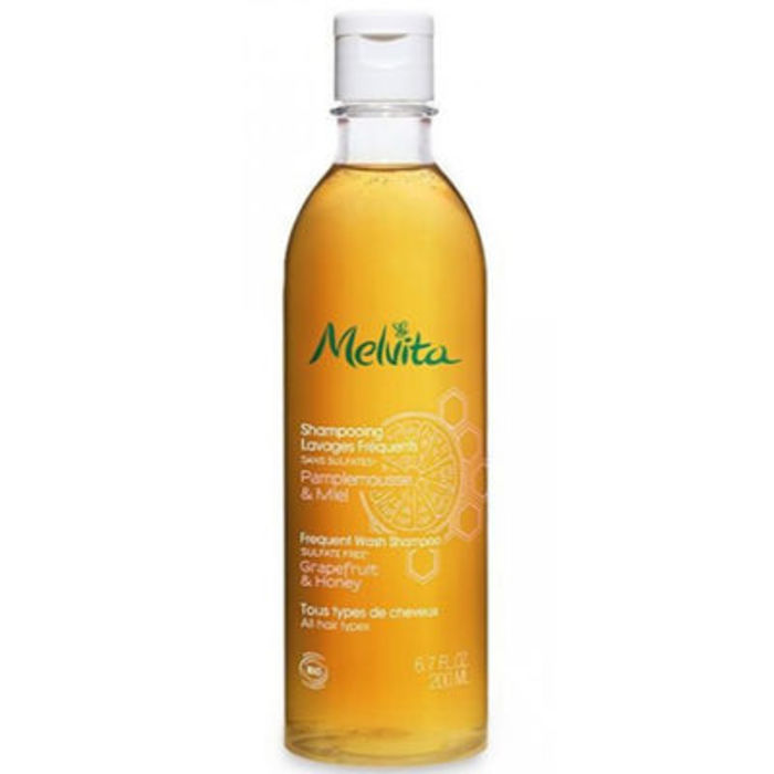 Shampooing lavages fréquents bio 200ml Melvita-213464