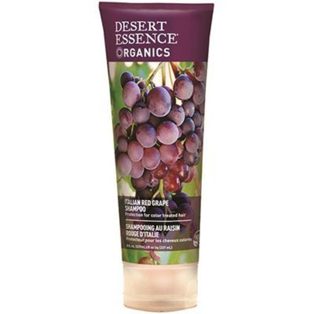 Shampooing raisin rouge d'italie 237ml - desert essence -221586