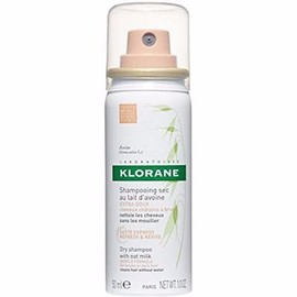 Shampooing sec au lait d'avoine teinté 50ml - klorane -214383