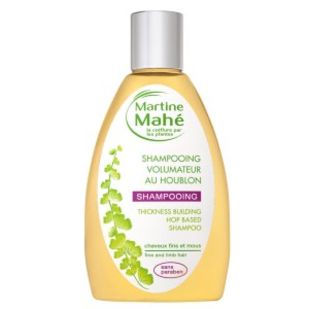 Shampooing volumateur au houblon - 200.0 ml - les bains capillaires - martine mahé Brillance, tonus et volume-2328