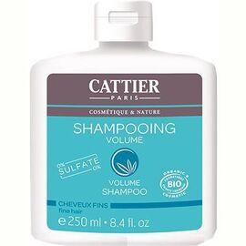 Shampooing volume sans sulfates bio 250ml - cattier -226164