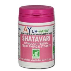 Shatavari (asparagus racemosus) bio - 60.0 unites - compléments alimentaires - ayur-vana Stimule et améliore la libido chez la femme-1406