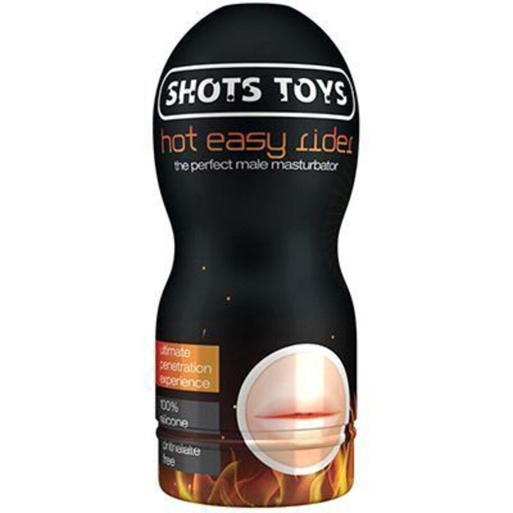 Shots toys masturbateur hot easy rider bouche - shots -225832