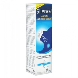 Silence anti-ronflement spray gorge - 50.0 ml - omega pharma -125755