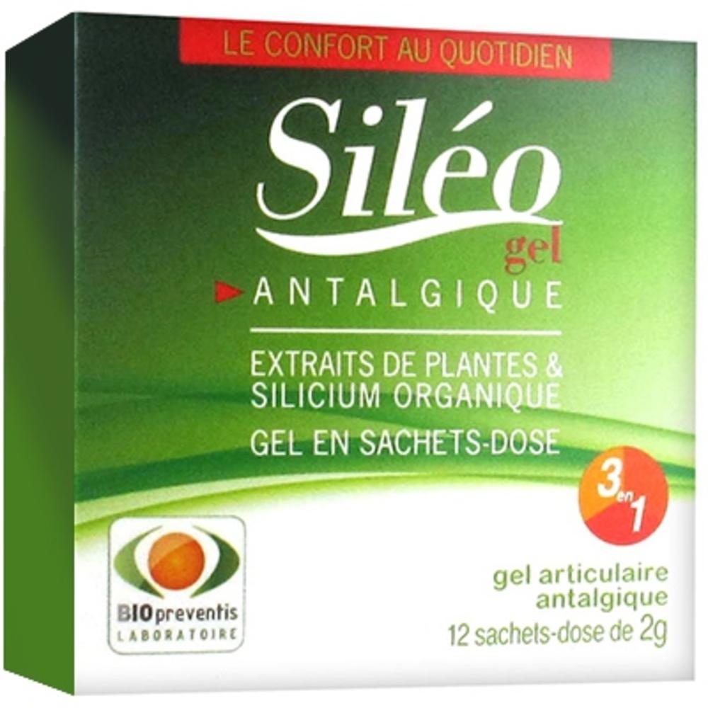 Sileo gel articulaire - 12 sachets x 2g - siléo -205567