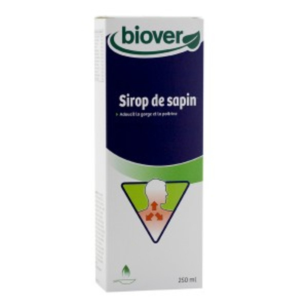 Sirop de sapin bio - 250.0 ml - wintercare - biover -15230